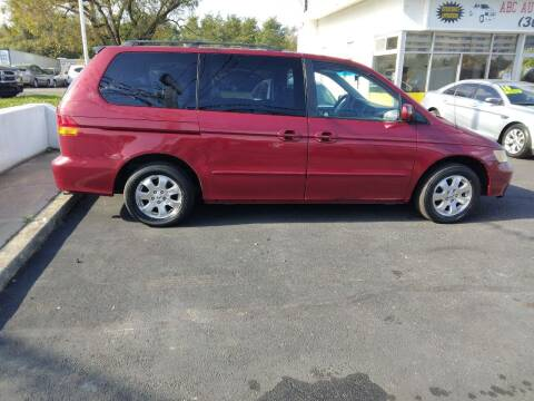 2003 Honda Odyssey for sale at ABC Auto Sales and Service in New Castle DE