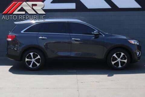 2016 Kia Sorento for sale at Auto Republic Fullerton in Fullerton CA