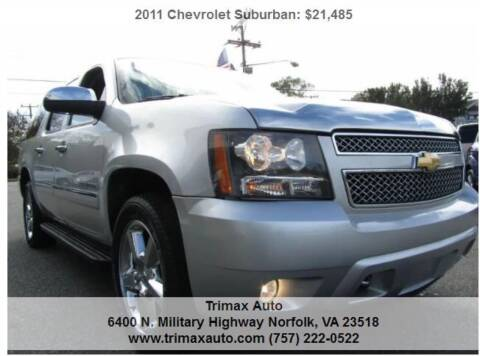 2011 Chevrolet Suburban for sale at Trimax Auto Group in Norfolk VA