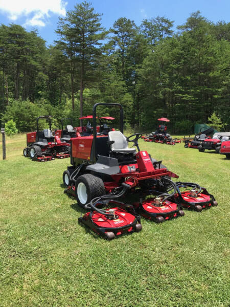 2006 Toro 4500 Groundsmaster mower for sale at Mathews Turf Equipment in Hickory NC