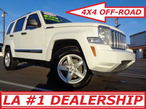 2012 Jeep Liberty for sale at ALL STAR TRUCKS INC in Los Angeles CA