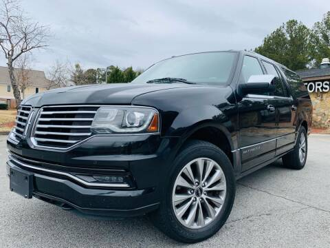 2015 Lincoln Navigator L for sale at Classic Luxury Motors in Buford GA