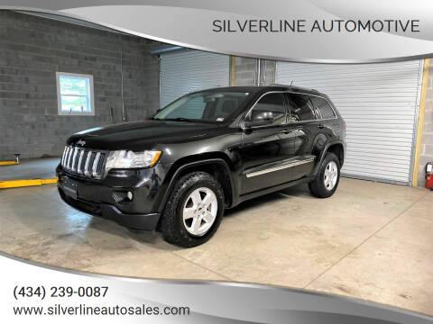 2012 Jeep Grand Cherokee for sale at Silverline Automotive in Lynchburg VA