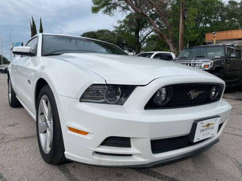 2014 Ford Mustang for sale at PRESTIGE AUTOPLEX LLC in Austin TX