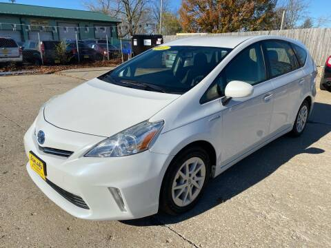 2012 Toyota Prius v for sale at ASHLAND AUTO SALES in Columbia MO