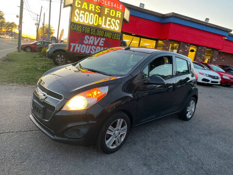 2014 Chevrolet Spark for sale at HW Auto Wholesale in Norfolk VA