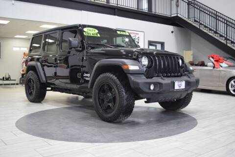 2019 Jeep Wrangler Unlimited for sale at Indy Motors Inc in Indianapolis IN