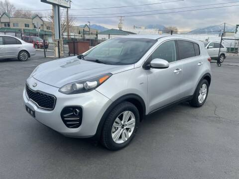 2017 Kia Sportage for sale at New Start Auto in Richardson TX