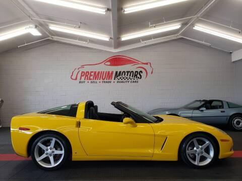 2006 Chevrolet Corvette for sale at Premium Motors in Villa Park IL