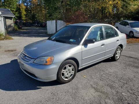 2001 Honda Civic for sale at AUTOMAR in Cold Spring NY