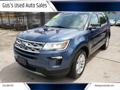 2018 Ford Explorer for sale at Gus's Used Auto Sales in Detroit MI