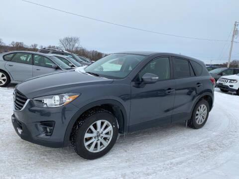 2016 Mazda CX-5 for sale at Riverside Motors in Glenfield NY