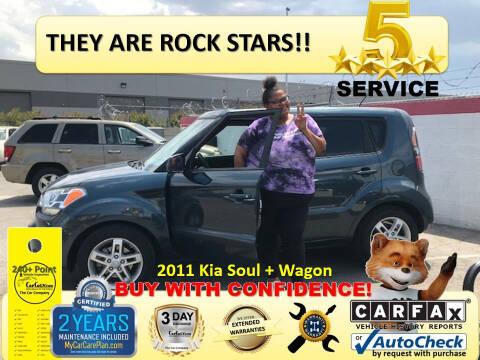 2011 Kia Soul for sale at The Car Company in Las Vegas NV