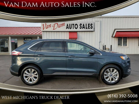 2019 Ford Edge for sale at Van Dam Auto Sales Inc. in Holland MI