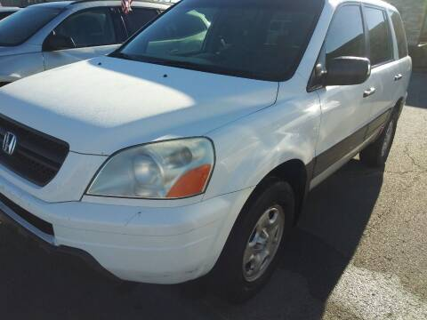 2003 Honda Pilot for sale at Auto Credit Xpress in North Little Rock AR