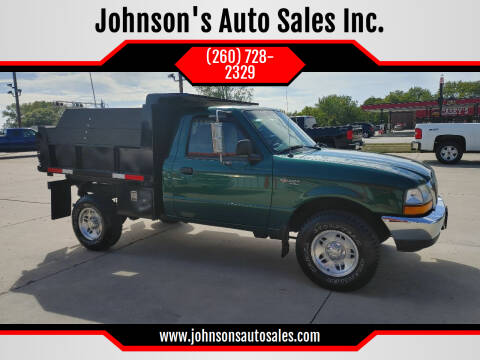 1999 Ford Ranger for sale at Johnson's Auto Sales Inc. in Decatur IN