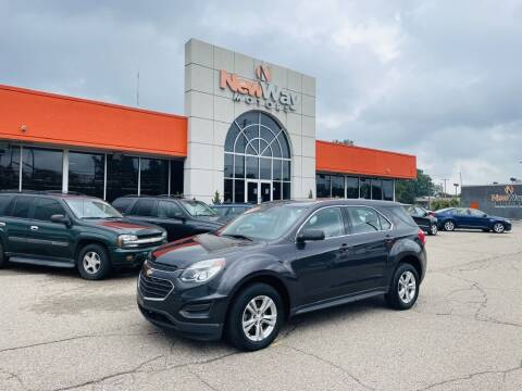 2016 Chevrolet Equinox for sale at New Way Motors in Ferndale MI