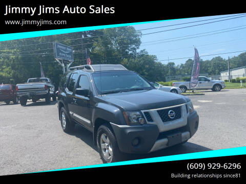 2012 Nissan Xterra for sale at Jimmy Jims Auto Sales in Tabernacle NJ