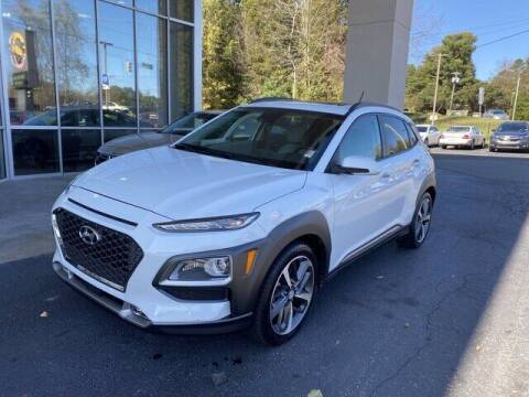 2018 Hyundai Kona for sale at Credit Union Auto Buying Service in Winston Salem NC