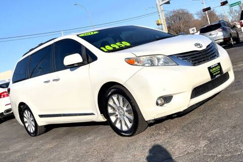 2011 Toyota Sienna for sale at Island Auto in Grand Island NE