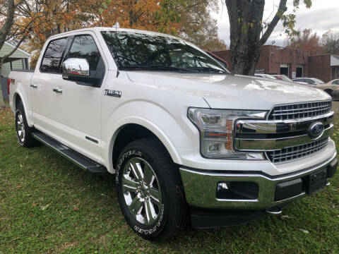 2018 Ford F-150 for sale at Creekside Automotive in Lexington NC