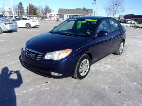 2010 Hyundai Elantra for sale at Ideal Auto Sales, Inc. in Waukesha WI