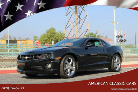 2013 Chevrolet Camaro for sale at American Classic Cars in La Verne CA