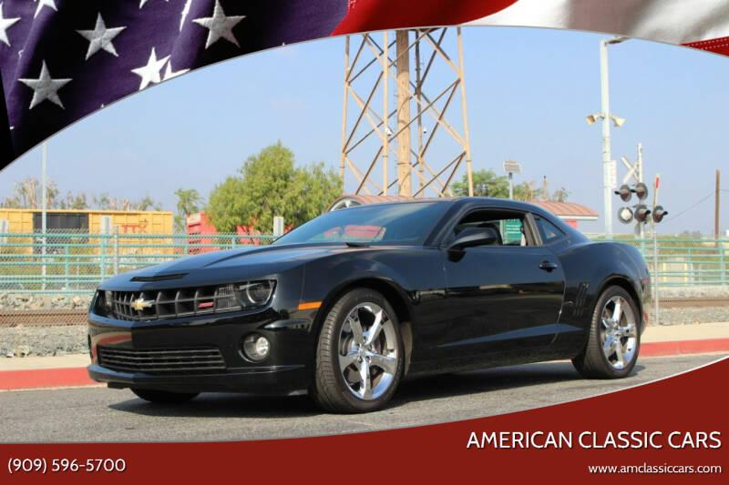 2013 Chevrolet Camaro for sale at American Classic Cars in La Verne CA