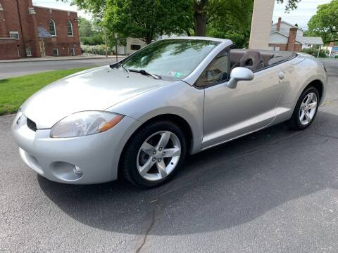 2007 Mitsubishi Eclipse Spyder for sale at On The Circuit Cars & Trucks in York PA