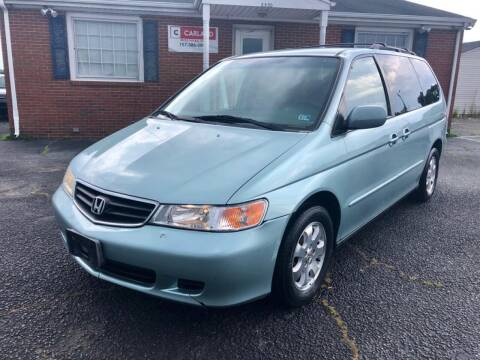 2003 Honda Odyssey for sale at Carland Auto Sales INC. in Portsmouth VA