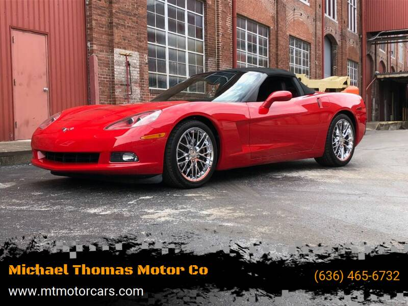 2005 Chevrolet Corvette for sale at Michael Thomas Motor Co in Saint Charles MO
