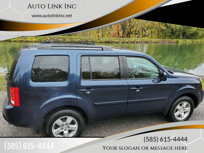 2011 Honda Pilot for sale at Auto Link Inc in Spencerport NY