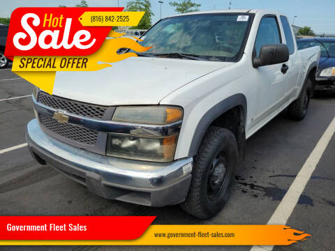 2008 Chevrolet Colorado for sale at Government Fleet Sales in Kansas City MO