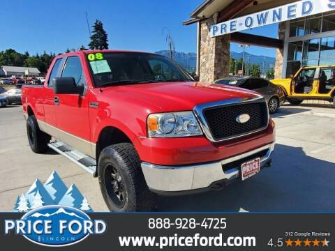 2008 Ford F-150 for sale at Price Ford Lincoln in Port Angeles WA
