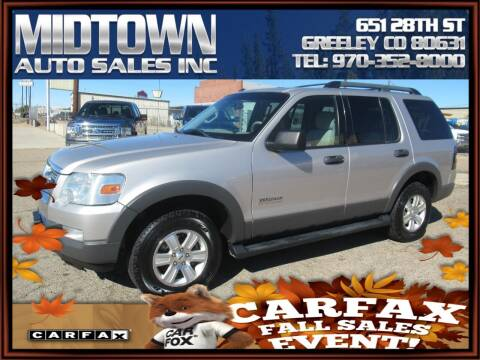 2006 Ford Explorer for sale at MIDTOWN AUTO SALES INC in Greeley CO