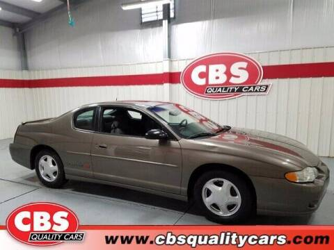 2002 Chevrolet Monte Carlo for sale at CBS Quality Cars in Durham NC