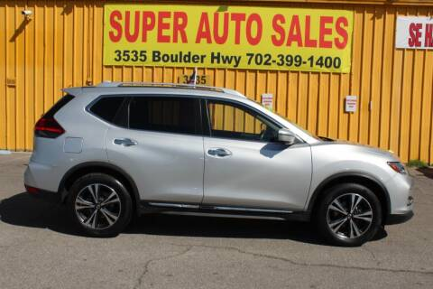 2018 Nissan Rogue for sale at Super Auto Sales in Las Vegas NV