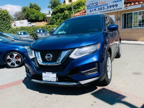 2017 Nissan Rogue for sale at MotorMax in Lemon Grove CA