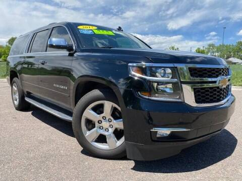 2017 Chevrolet Suburban for sale at UNITED Automotive in Denver CO