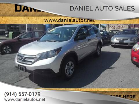 2014 Honda CR-V for sale at Daniel Auto Sales in Yonkers NY