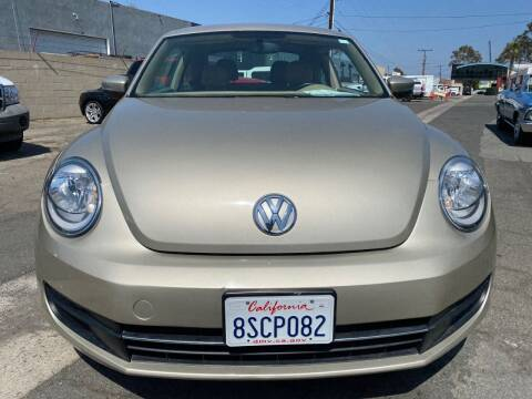 2013 Volkswagen Beetle for sale at Faith Auto Sales in Temecula CA