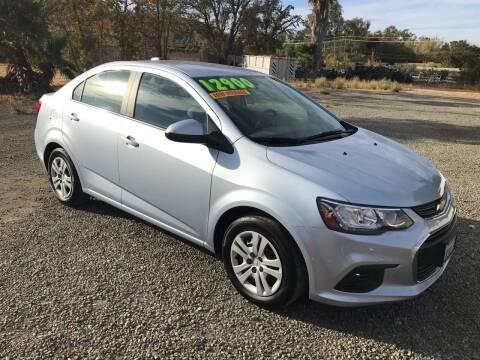 2017 Chevrolet Sonic for sale at Quintero's Auto Sales in Vacaville CA