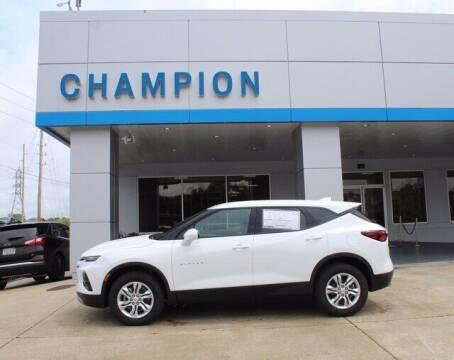2021 Chevrolet Blazer for sale at Champion Chevrolet in Athens AL