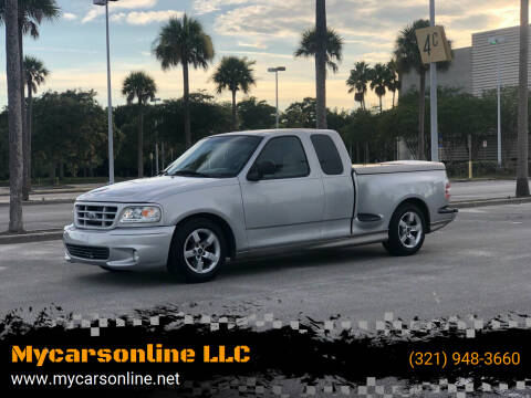 1998 Ford F-150 for sale at Mycarsonline LLC in Sanford FL