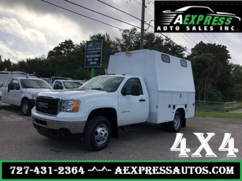 2013 GMC Sierra 3500HD CC for sale at A EXPRESS AUTO SALES INC in Tarpon Springs FL