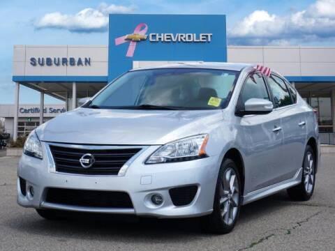 2015 Nissan Sentra for sale at Suburban Chevrolet of Ann Arbor in Ann Arbor MI