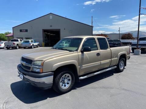 2005 Chevrolet Silverado 1500 for sale at Auto Image Auto Sales in Pocatello ID