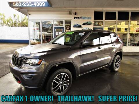 2018 Jeep Grand Cherokee for sale at Powell Motors Inc in Portland OR