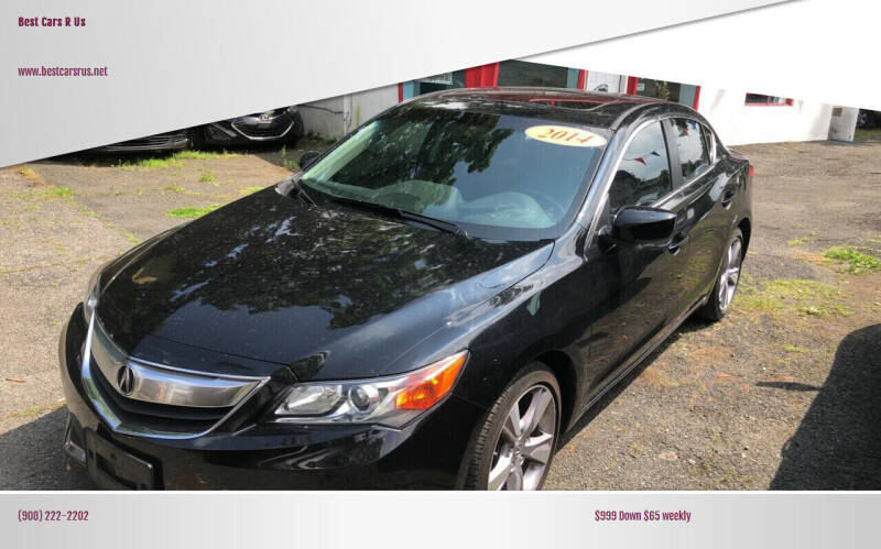 2014 Acura ILX for sale at Best Cars R Us in Plainfield NJ