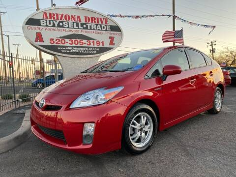 2010 Toyota Prius for sale at Arizona Drive LLC in Tucson AZ